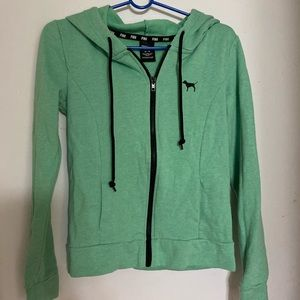 VS Pink mint color hoodie xsmall.